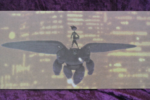 Disney D23 Expo Exclusive Big Hero 6 Hiro and Red Baymax In Flight Lithograph