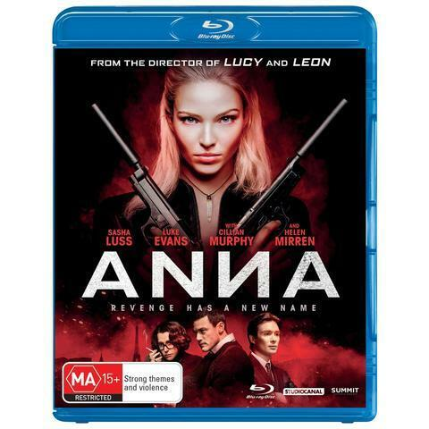 ANNA BLU-RAY, NEW & SEALED, 2019 RELEASE, FREE POST
