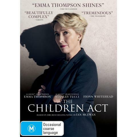 THE CHILDREN ACT DVD, NEW & SEALED, 2019 RELEASE, FREE POST