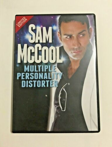 Sam McCool: Multiple Personality Distorter - RARE Stand-up Comedian Comedy DVD