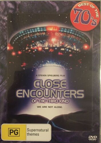 Close Encounters Of The Third Kind (R4 DVD 2001) We Are Not Alone VGC FREE POST