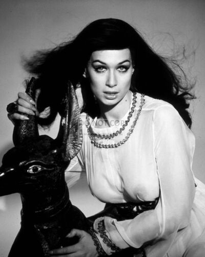 """VALERIE LEON IN """"BLOOD FROM THE MUMMY'S TOMB"""" - 8X10 PUBLICITY PHOTO (DA925)"""