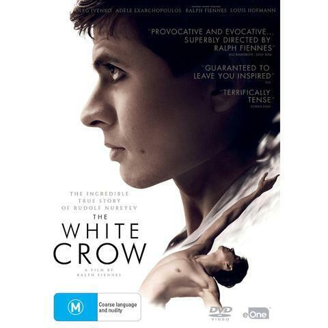 THE WHITE CROW DVD, NEW & SEALED, 2019 RELEASE, FREE POST.