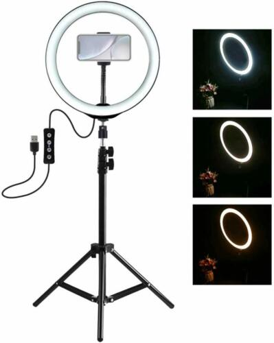 ANELLO LUMINOSO TREPPIEDI VIDEO LUCE LED FOTOGRAFIA CELLULARE PER YOUTUBE TIKTOK