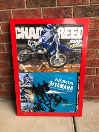 Chad Reed Signed Framed Poster