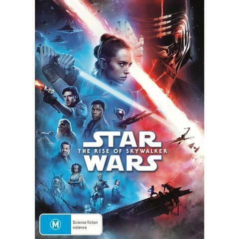 STAR WARS THE RISE OF SKYWALKER DVD, BRAND NEW, PRIORITY POST.