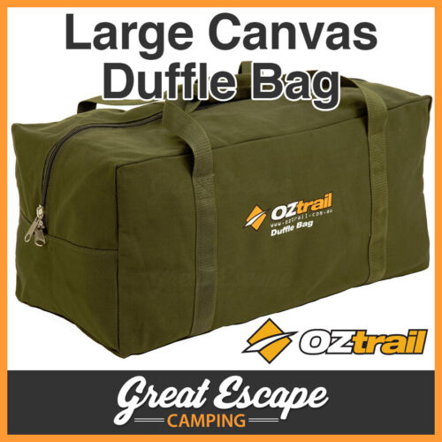 NEW OZTRAIL JAFFLE IRON BAGS DOUBLE COTTON CANVAS CAMPING OUTDOOR HEAVY DUTY
