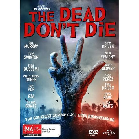 THE DEAD DONT DIE DVD, BRAND NEW & SEALED ** NEW RELEASE **  FREE POST.