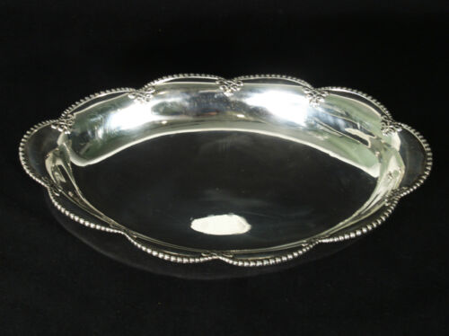 Antique Tiffany & Co Sterling Silver Oval Dish - Bowl