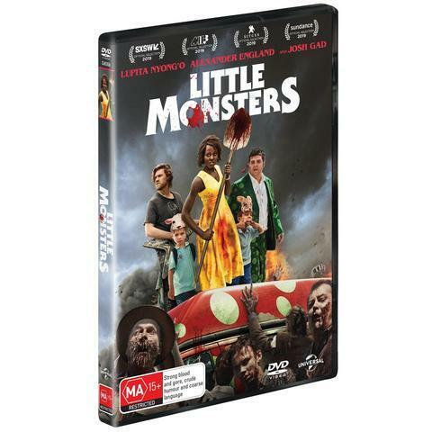 LITTLE MONSTERS DVD, NEW & SEALED, 2020 RELEASE, FREE POST