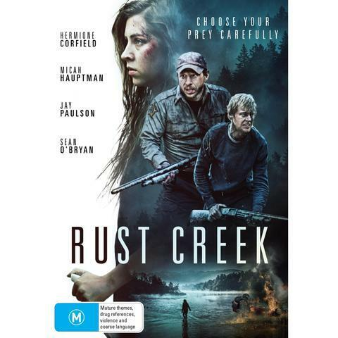RUST CREEK DVD, NEW & SEALED, 2019 RELEASE, FREE POST
