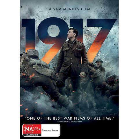 1917 DVD, NEW & SEALED, ** NEW RELEASE ** FREE  PRIORITY POST, PRE ORDER