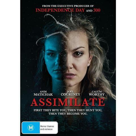 ASSIMILATE DVD, NEW & SEALED, 2019 RELEASE, FREE POST