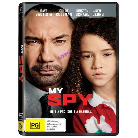 MY SPY DVD, NEW & SEALED, ** NEW RELEASE **, FREE POST