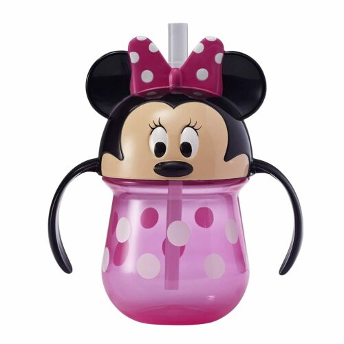 1pc The First Years Straw Trainer Drinking 207ml Cup Baby/Toddler 9m+ Minnie