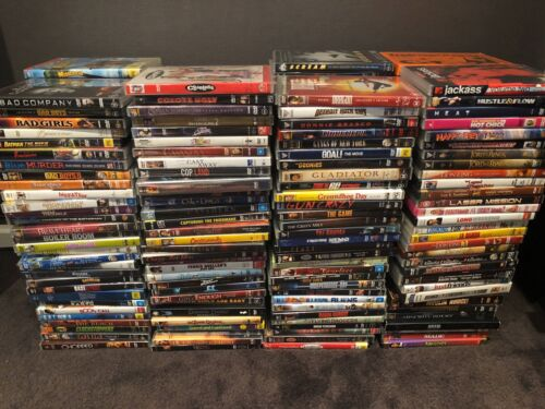 Assorted DVD Movies - Very Good To Like New Condition