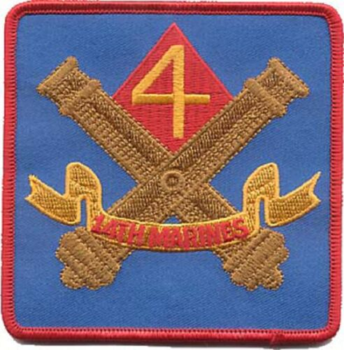 Usmc 14th Marines Marine Regiment Patch