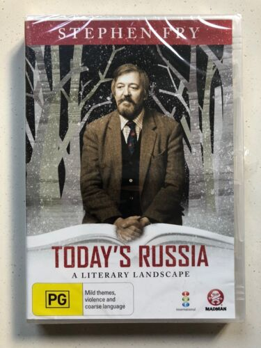 Today's Russia - A Literary Landscape - Stephen Fry (DVD) Reg ALL - NEW & SEALED