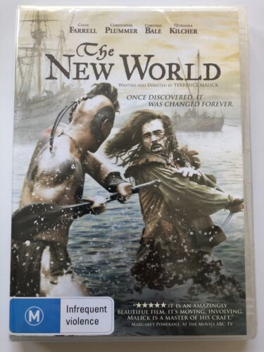 The New World - Colin Farrell (DVD) Australia Region 4- NEW & SEALED