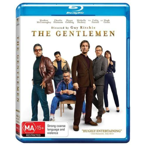 THE GENTLEMEN BLU-RAY, NEW & SEALED** NEW RELEASE ** FREE POST
