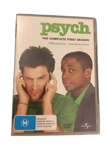 Psych - The Complete First Season (DVD, 2011, 4-Disc Set)
