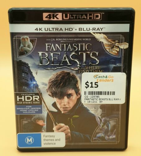 Fantastic Beasts And Where to Find Them 4K Ultra HD Bluray -cgl3030