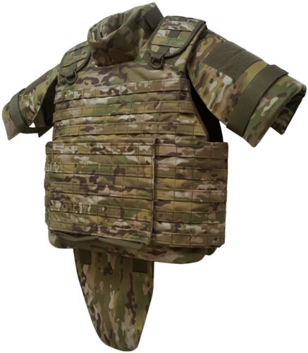 New size 5XL MultiCam Tactical Modular Vest MOLLE, Plate Carrier Other Current Field Gear - 36071