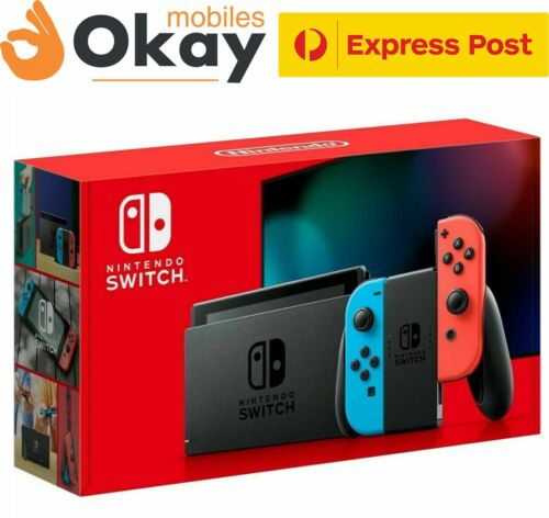 NEW Nintendo Switch Console - Neon (FREE EXPRESS SHIPPING)