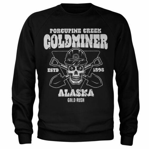 Officially Licensed Gold Rush - Porcupine Creek Goldminer Sweatshirt S-XXL Sizes