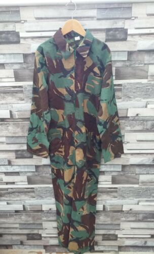 CAMOUFLAGE KHAKI GREEN ARMY MILITARY PETITE ZIP UP 3/4 ALL IN ONE JUMPSUIT UK 6
