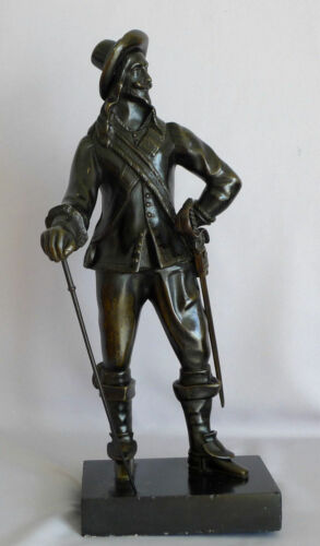 Charles the First Bronze statue, c1750 very rare !!!
