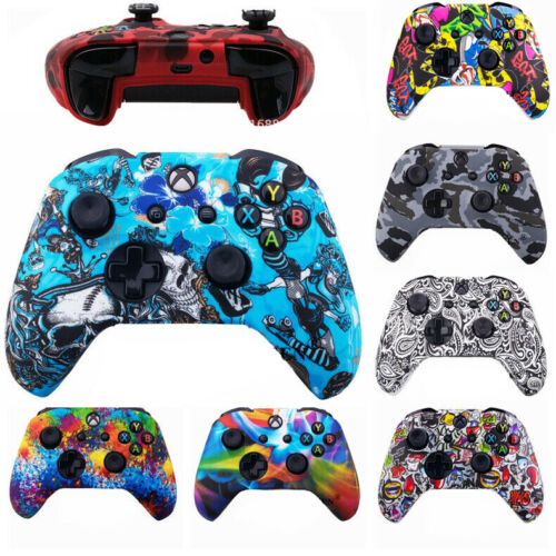 Soft Skin Protective Handle Grip Cover Case For Microsoft Xbox One Controller AU