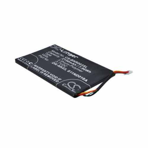 Battery For BARNES & NOBLE S11ND018A