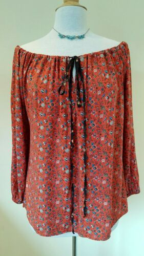 Vivienne Westwood floral Gypsy Blouse Size 42