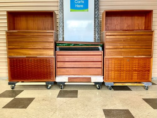 ~ROYAL SYSTEM, by Poul Cadovius (50's / 60's Danish Modern Wall Unit TEAK)!!!~