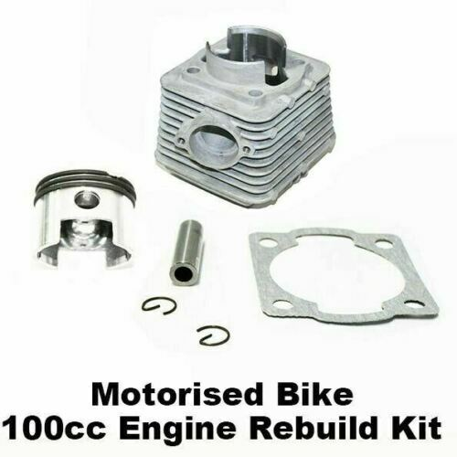 Unbranded 50cc CYLINDER BARREL PISTON KIT compatible with CHINESE CHOPPER MINI PIT DIRT BIKE MOTOCROSS