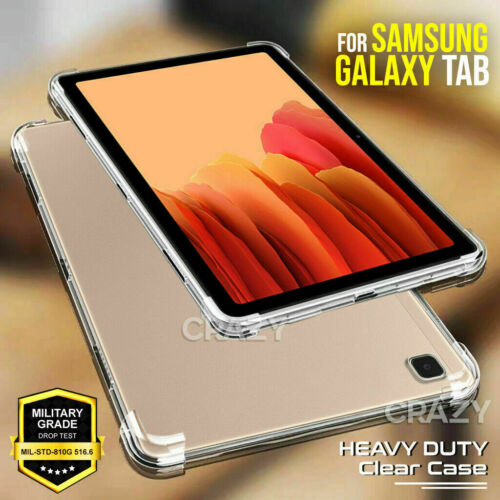 For Samsung Galaxy Tab S6 Lite P610 P615 Clear Shockproof Heavy Duty Case Cover