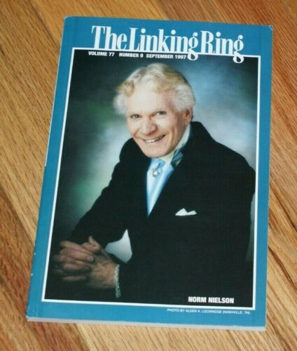 Linking Ring (Sep 1997)-- NORM NIELSON cover; BILL WELDON emcee Parade   --TMGS