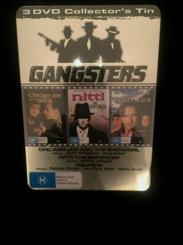 GANGSTERS 3 DVD COLLECTOR'S TIN  BRAND NEW SEALED