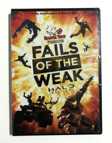 Fails of the Weak: Halo Edition - Rooster Teeth Red vs Blue BRAND NEW SEALED DVD