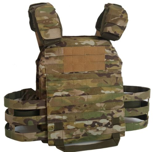 Plate Carrier MultiCam w/ soft body armor inserts IIIA, MKII Gr2 new Other Current Field Gear - 36071