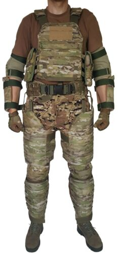 Plate Carrier size M with bulletproof pads MultiCam level IIIA, new Other Current Field Gear - 36071