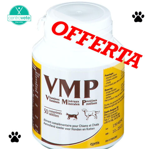 VMP COMPRESSE (50 cpr) – Mangime complementare per cani