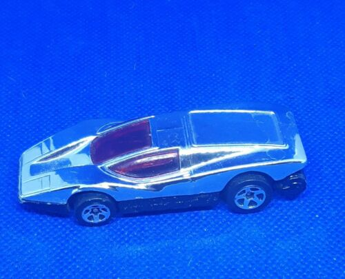 Voiture Hot wheels  chromé vintage