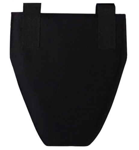 Groin element with insert IIIA Black for Plate Carrier Vest MOLLE SharkOther Current Field Gear - 36071