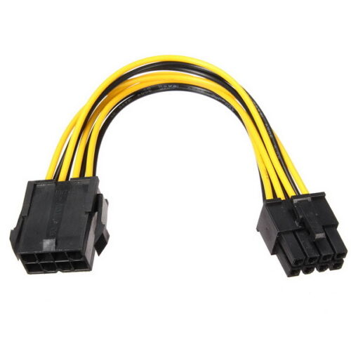 Motherboard 8-PIN EPS Male to Female extension Adaptor Cable