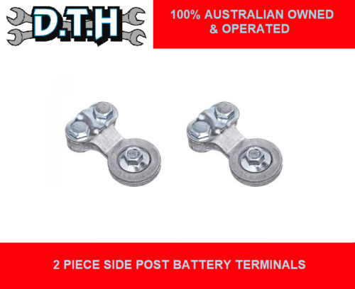 2 PIECE SIDE POST BATTERY TERMINALS