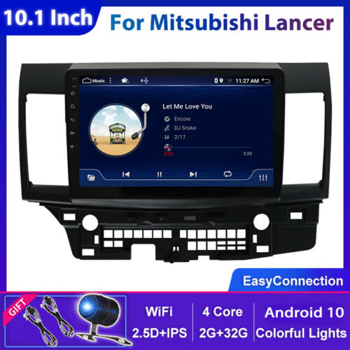 "10.1""Car Stereo For Mitsubishi Lancer Android 10 Auto Radio GPS Navi Head Unit"