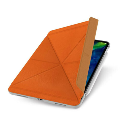 """Moshi Versacover 11"""" Case Folding Cover/Stand For Apple iPad Pro/2nd Gen Orange"""