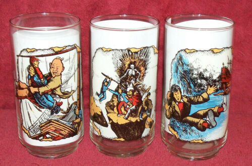 3 GOONIES 1985 - Data Waterslide - Sloth - Organ Godfather's Glass NEW Warner ET
